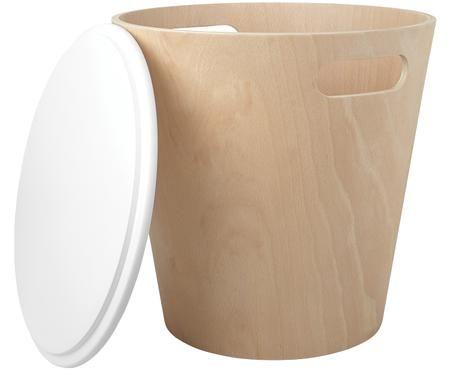 Sgabello / tavolino contenitore Woodrow