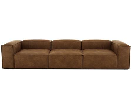 Sofa modułowa ze skóry Lennon (4-osobowa)