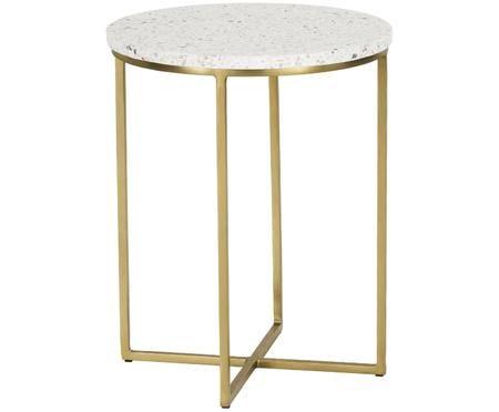 Terrazzový pomocný stolík Paloma