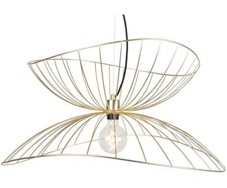 Design-Pendelleuchte Ray, Messing