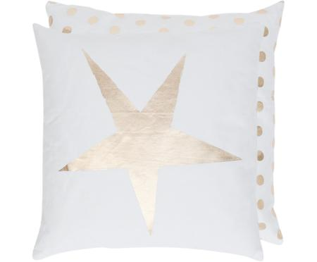 Dubbelzijdige kussenhoes Star