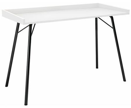 Psací stůl s bílou deskou Rayburn