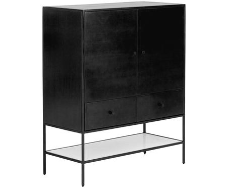 Zwart highboard Lenny