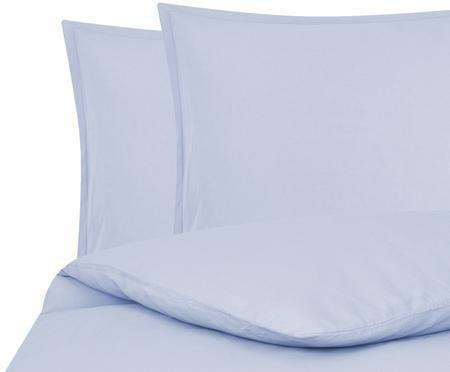 Gewaschene Leinen-Bettwäsche Breeze in Hellblau