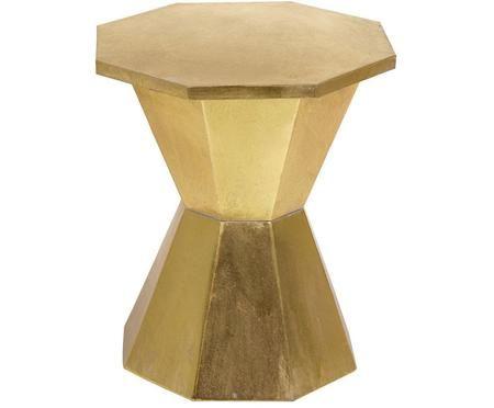 Taburete / Mesa auxiliar Golden