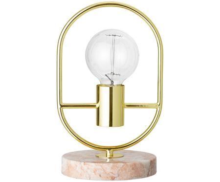 Lampada da tavolo in marmo Emilia