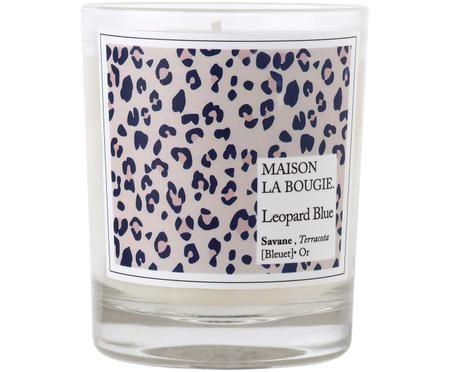 Świeca zapachowa Leopard (jagodlin wonny, tonkowiec wonny i białe piżmo)