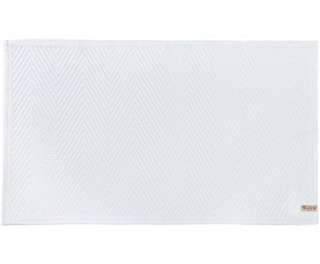 Badvorleger Soft Cotton mit Fischgrätmuster
