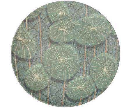 Bambus-Frühstücksteller Nymphaea