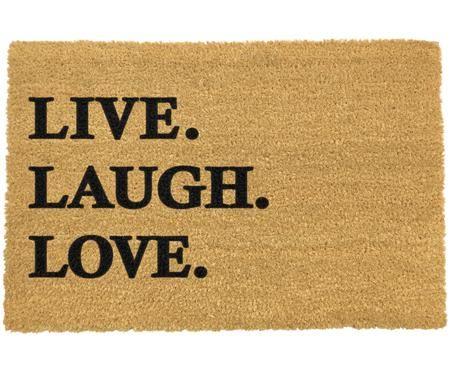 Wycieraczka Live Laugh Love