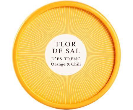 Gewürzsalz Flor de Sal d´Es Trenc (Orange & Chili)
