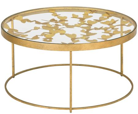 Table basse en verre Butterfly