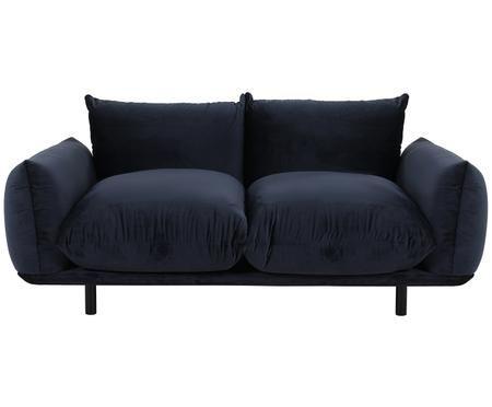Samt-Sofa Saga (3-Sitzer)