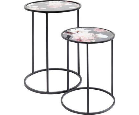 Komplet stolików pomocniczych Peony, 2 elem.