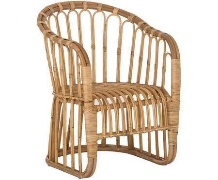 Fotel z rattanu Palma