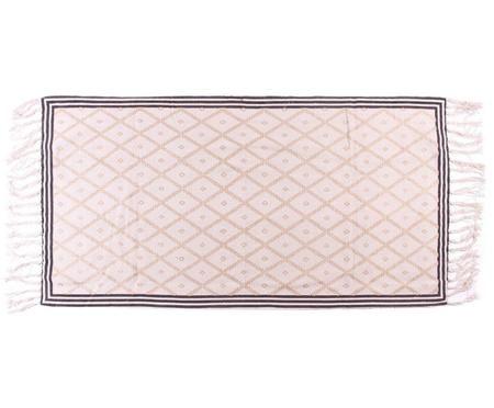 Teppich Veit mit Rautenmuster