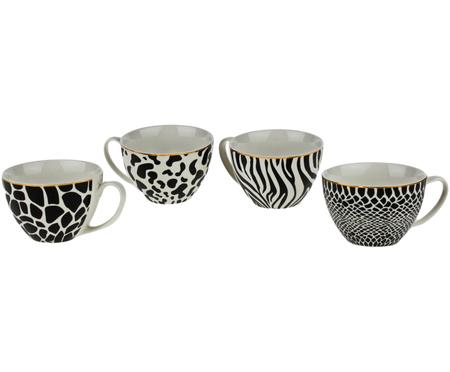 Ensemble de tasses Wild Jungle, 4 élém.