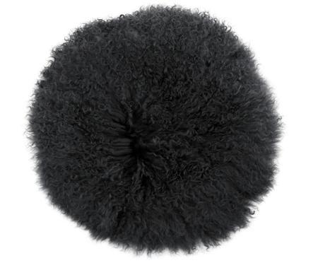 Federa arredo sedia in pelliccia di agnello a pelo lungo Ella