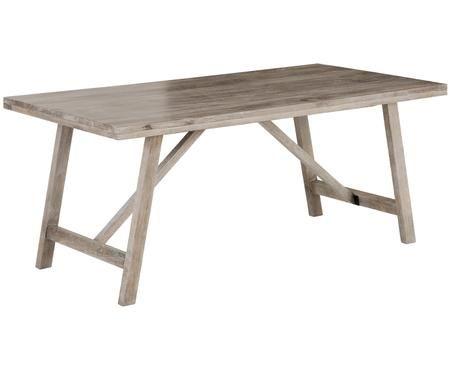 Tavolo da pranzo in legno massiccio Memphis