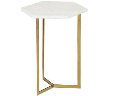 Table d'appoint en marbre Vince