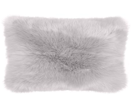 Poszewka na poduszkę ze sztucznego futra Mathilde, gładka