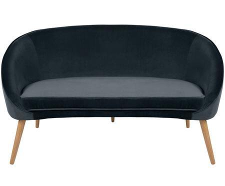 Fluwelen sofa Safir (2-zits)