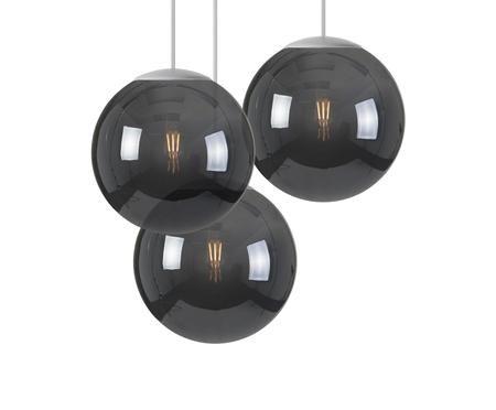 LED Pendelleuchte Spheremaker 3 aus Kunststoff