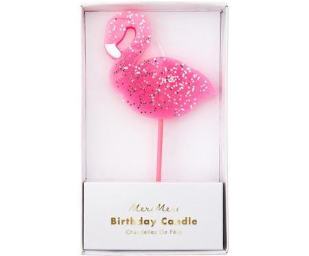 Świeczki tortowe Flamingo