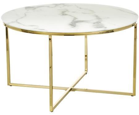 Tavolino da salotto con piano in vetro  Antigua