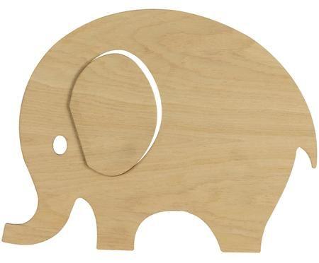 Nástenné svietidlo Elefant so zásuvkou