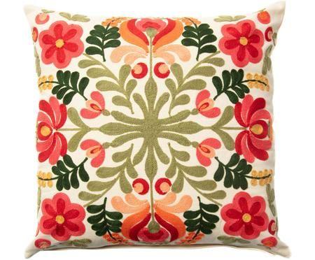 Poszewka na poduszkę z haftem Anixe