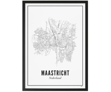 Ingelijste digitale print Maastricht