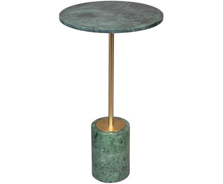 Tavolino in marmo rotondo Gunnar