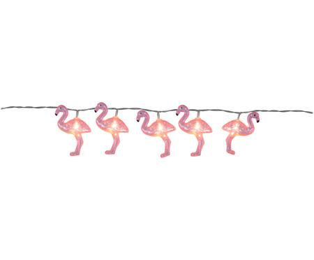 LED Lichterkette Flamingo, 180 cm
