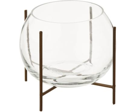 Kugel-Vase Ada mit Metallgestell