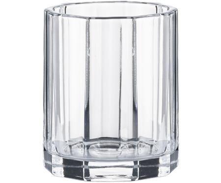 Vaso in vetro Plisa