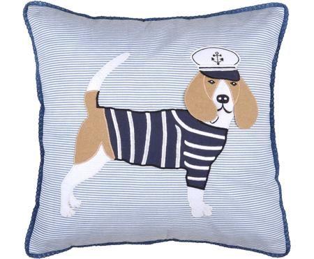 Poduszka z wypełnieniem Guernezey Sailor