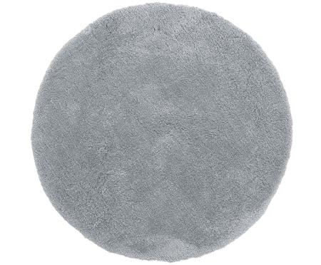 Načechraný kulatý koberec s vysokým vlasem Leighton