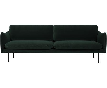 Sofa z aksamitu Moby (3-osobowa)