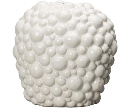 Vase Celeste aus Steingut
