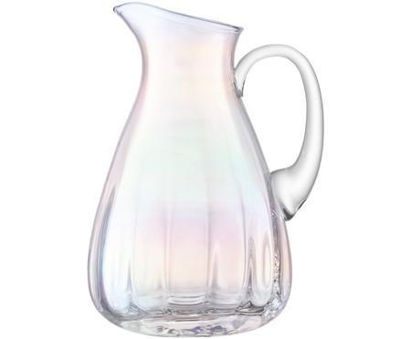 Caraffa in vetro soffiato Pearl