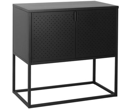 Metall-Sideboard Newton in Schwarz