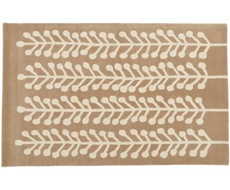 Tappeto di lana Wool Herbs