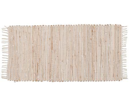 Alfombra de algodón y fibras de cáñamo Arlid