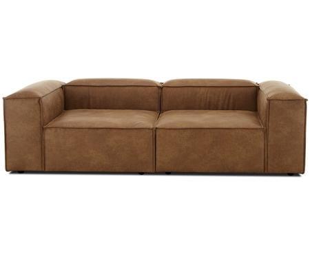 Canapé modulable en cuir Lennon (3 places)