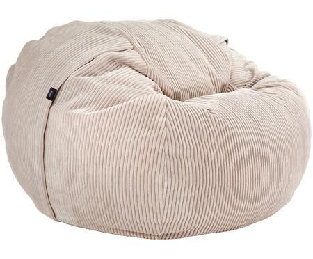 Poduszka do siedzenia ze sztruksu Velours