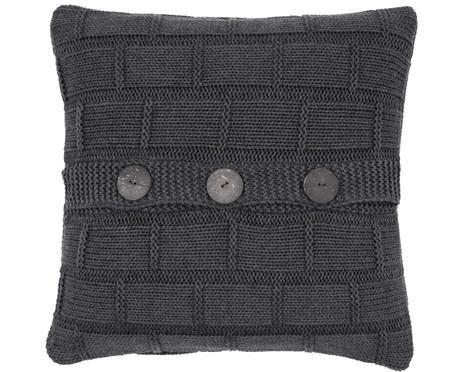 Housse de coussin en tricot Clara