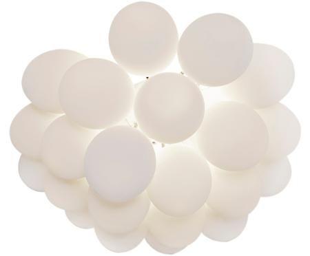 Plafoniera con sfere di vetro Gross