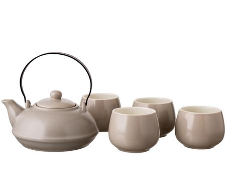 Service à thé Sencha, 5élém.