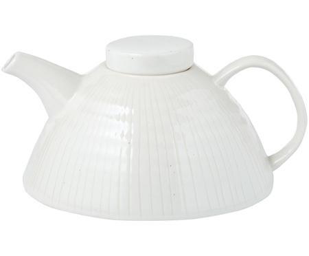 Handgefertigte Teekanne Copenhagen mit feinen Streifen